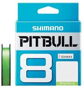 SHIMANO PITBULL 8 Braided Line PE 200m Japan