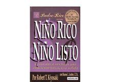 Niño Rico, Niño Listo Robert T Kiyosaki Spanish Español Book PDF Free Shipping