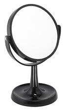 3x Magnification Black Acrylic Free Standing Vanity Mirror (924blk)