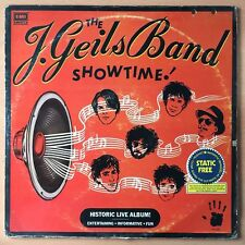 THE J. GEILS BAND Showtime! PHILIPPINES Press LP