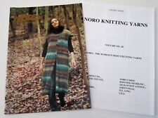 NORO WORLD of NATURE knitting yarn pattern book #28 with 20 Designs for Women