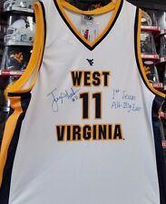 Joe Alexander West Virginia Mountaineers Signed #11 Basketball Jersey