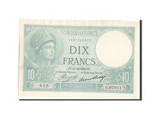Billets, France, 10 Francs, 10 F 1916-1942 ''Minerve'', 1936 #208816