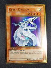 Yu-Gi-Oh! YuGiOh Cyber Dragon - GLD1-EN022 - Gold Rare Series (2008)