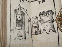 CHIMICA ALCHIMIA - Lancillotti: 1697 GUIDA ALLA CHIMICA 3 parti in 1 con Tavole