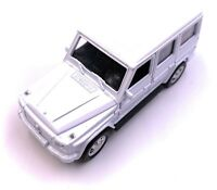 Mercedes Benz G - Class Model Car in White Scale 1:3 4 (Licensed)