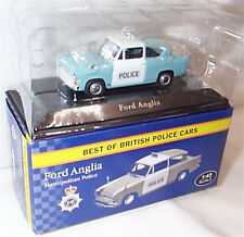 Ford Anglia Met Police 1-43 Scale New in box best of british police cars