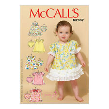 McCall 's Infant Female Sewing Patterns