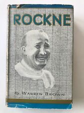 ROCKNE By Warren Brown Notre Dame Coach Book 1931 Hard Cover