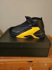 Air Jordan Jumpman Swift sz 13 Lakers Eddie Jones. Black and Yellow