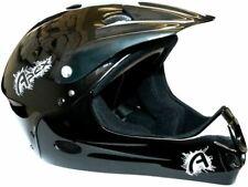 ETC Full Face BMX Helmet Black 54-58cm