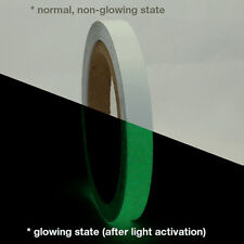 JVCC GLW Glow in the Dark Tape: 1/2 in. x 30 ft. (Luminescent Lime Green)