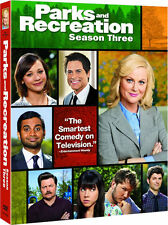 Parks And Recreation . The Complete Season 3 . Staffel . Amy Poehler . 3 DVD NEU