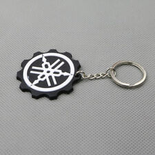 Black Motorcycle Rubber Keyring Keychain Key Ring Key Chain YAMAHA YZF Cool Gift
