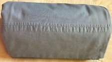 Lauren Ralph Lauren LRL Solid Percale Queen Bed Flat Sheet $115 French Blue USA