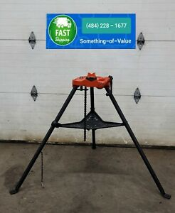 Ridgid 450 Pipe Vise Tripod Stand for Pipe up to 5 inch Threader 300 #11