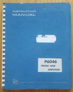 Tektronix P6046 Probe & Amplifier Instruction Manual