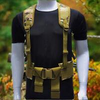 Military Tactical Outdoor Vest Hunting Adjustable Shoulder Waist Strap Girdle  !