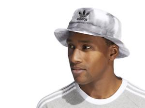 Adidas Originals Color Wash Bucket Hat Unisex OSFA Tie Dye New One Size Gray