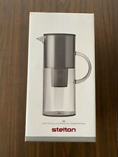 STELTON 2 LITER WATER FILTER PITCHER JUG DENMARK SMOKE