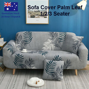Sofa Cover Palm Leaf Couch Covers 1 2 3 Seater Lounge Slipcover Protector