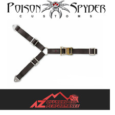 Poison Spyder 3 Way Spare Tire Ratchet Strap Tie Down w/ Logo Universal