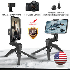 Adjustable Tripod Phone Desktop Stand Mount Holder Selfie Stick for Phone Camera
