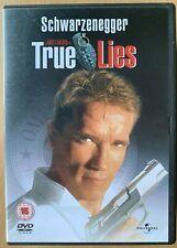 True Lies DVD 1994 James Cameron Spy Action Classic with Arnold Schwarzenegger