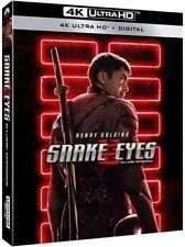 Snake Eyes:G.I.Joe Origins(4K + Blu Ray) W/Slipcover No Digital