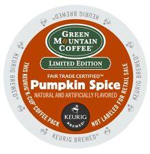 Green Mountain Seasonal Pumpkin Spice Coffee 96 Keurig K Cups FREE SHIPPING
