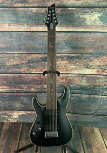 Schecter Left Handed Damien Platinum 8 8 String Electric Guitar-#1188