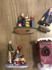 Christmas Holiday Village House Accessories Assorted Outhouse Ect