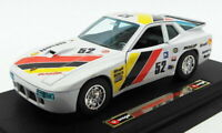 Burago 1/24 Scale Diecast Model Car 2518D - Porsche 924 GR.2 Racing Car - White