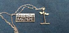 Depeche Mode logo pin badge pendant electronic rock the cure