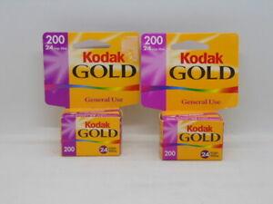 New! Kodak Gold ISO/200 35mm Film 24 Exp. Sealed lot of 2