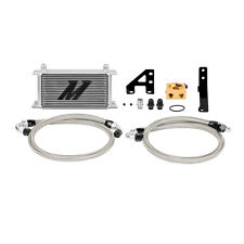 Mishimoto Thermostatic Oil Cooler Kit - Silver - fits Subaru Impreza STi - 2015-