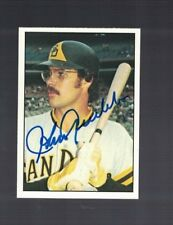 Johnny Grubb San Diego Padres 1975 SSPC Autographed Baseball Card W/COA