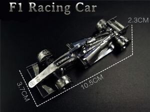 3D Metal Racing Car Model Kit DIY Laser Cut Educational Vehicle Puzzle Toy Gift
