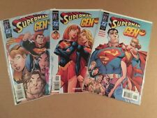 Superman Gen13 #1 #2 #3 Complete Series Of Campbell Covers Hard To Find Set!