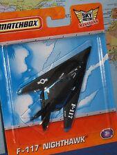 MATCHBOX SKY BUSTERS NIGHTHAWK F-117 BLACK ***BRAND NEW & RARE***
