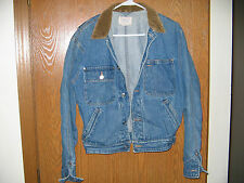 Polo Jean Jacket Authentic Dungarees U.S.A. SMALL Denim Ralph Lauren FREE SHIP