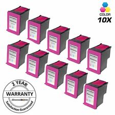 10 HP61XL 61XL 61 CH564WN Color Printer Ink Cartridge for HP Deskjet 2510 2512