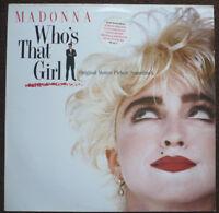 MADONNA - Who's that girl - Soundtrack-LP > w. Club Nouveau, Scritti Politti, ..