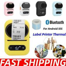 Label Printer Thermal Label Maker Portable Supermarket Clothes Tag Office Supply