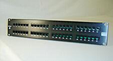 Siemon Hd5 Cat 5E 48 Port Rj-45 2-U Rack Mount Patch Panel