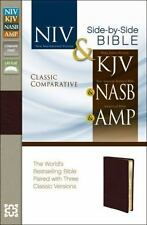 Classic Comparative Parallel Bible: Niv And   Kjv And   Nasb And   Amplified:...