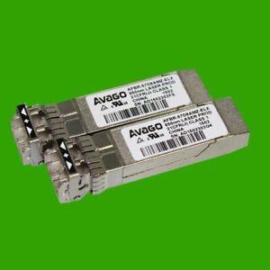 2 Stück AVAGO AFBR-57D9AMZ-ELX 8 GB SFP+ Optical Transceiver 850nm