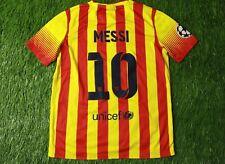 BARCELONA MESSI 2013/2015 PLAYER ISSUE FOOTBALL SHIRT JERSEY AWAY NIKE ORIGINAL