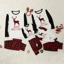 Family Matching Adult Christmas Pyjamas Xmas Nightwear Pajamas PJs Sets Festive