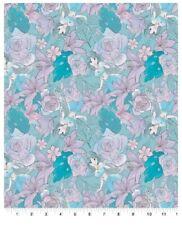 "Disney Princess Jasmine Flower 100% Cotton Fabric 7"" X 44"" Remnant"